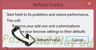 Pass and Play ads Firefox reset confirm
