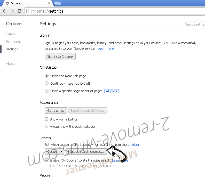Search.chipopo.info Chrome extensions disable