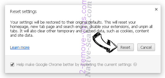 Journalaboutlife.org Chrome reset