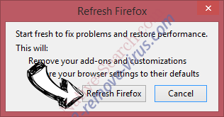 Pro-search.me Firefox reset confirm