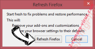 Fake Yahoo Search Firefox reset confirm