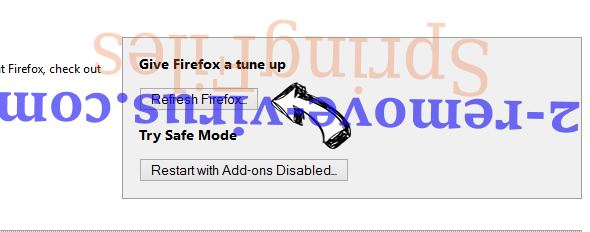 MusixMuze Search Firefox reset