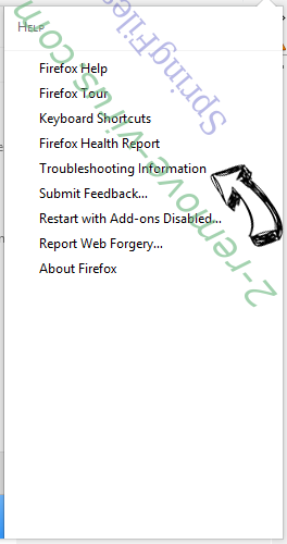 Search.searchlivesp.com Firefox troubleshooting