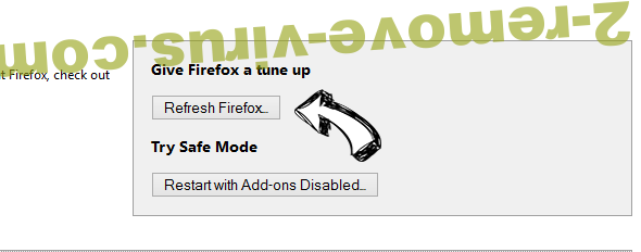 Search.medianewtab.com Firefox reset