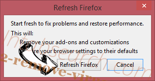 Funny Collection Firefox reset confirm