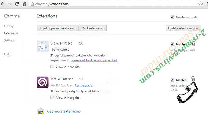 Cash Kitten Chrome extensions remove