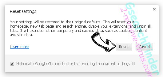 Searchquicknow.com Chrome reset