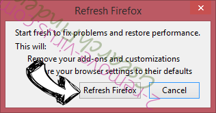 Cash Kitten Firefox reset confirm