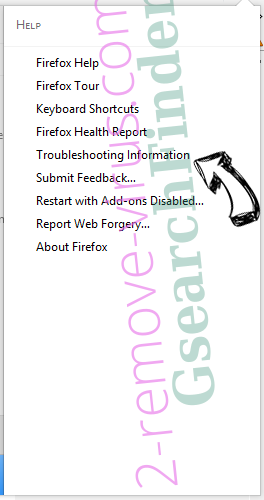 Search.mysafetab.com Firefox troubleshooting