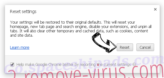 Search.searchgrm.com Chrome reset