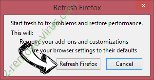 Search.myappzcenter.com Firefox reset confirm