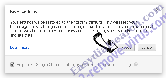Search.mysafesearch.net Chrome reset