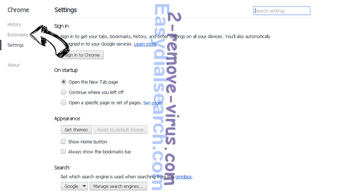 Hyourtransitinfonowpop.com Chrome settings
