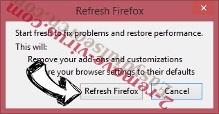The Good Caster Virus Firefox reset confirm
