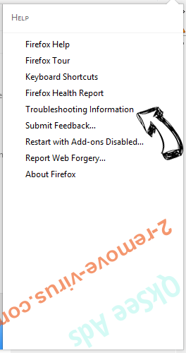 Websearch.exitingsearch.info Firefox troubleshooting