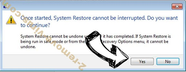 Unlock this Page to Continue removal - restore message