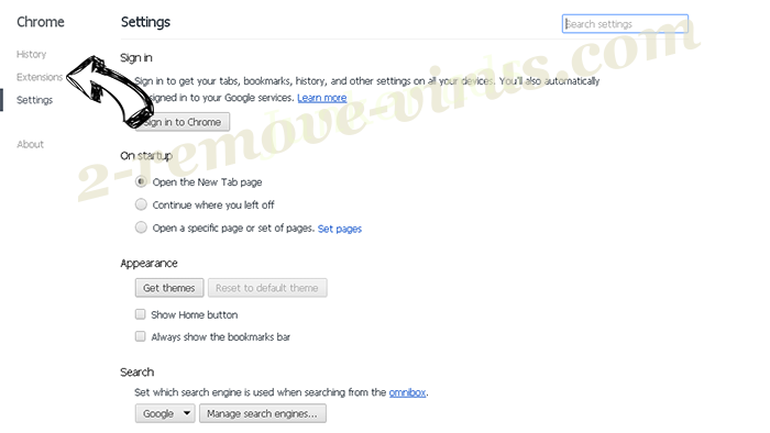 Inetoboz.com Chrome settings