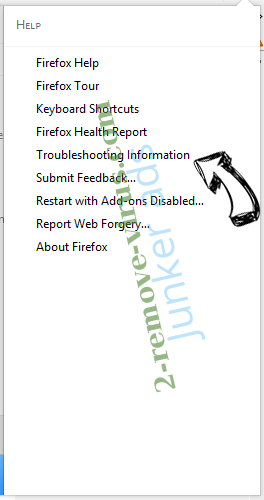 Junker ads Firefox troubleshooting