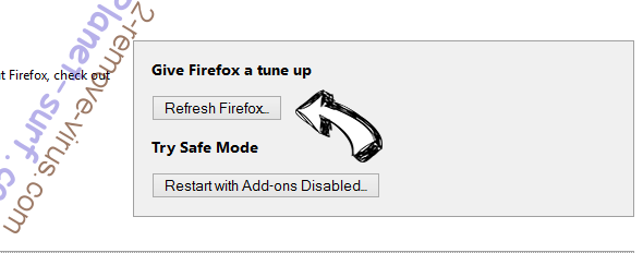 Search.celipsow.com Firefox reset
