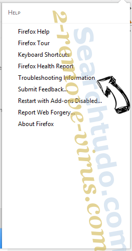 Searchtudo.com Firefox troubleshooting