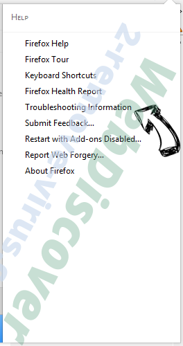 Get-search.info Firefox troubleshooting