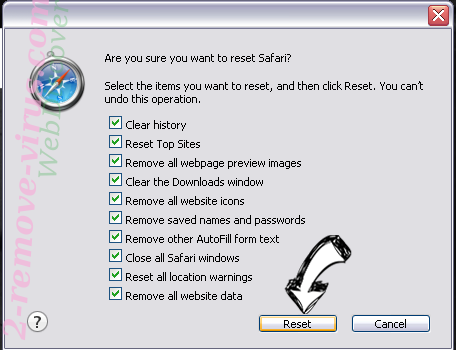 Securecloud-dl.com Safari reset