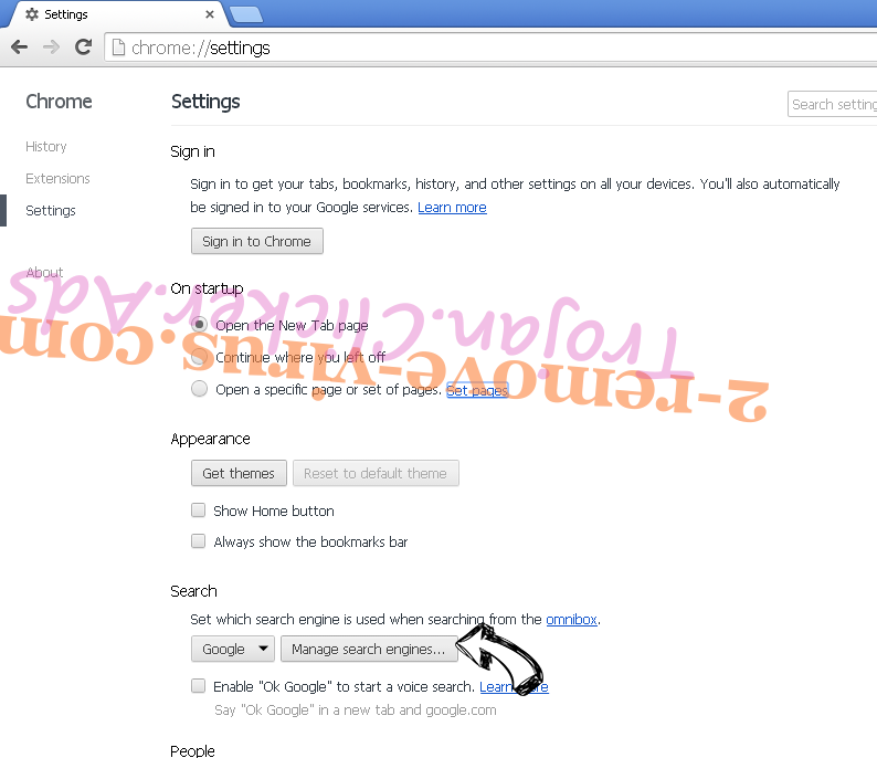 Interior Design New Tab Chrome extensions disable