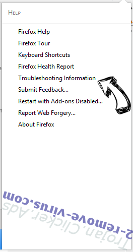 Trojan.Clicker.Ads Firefox troubleshooting