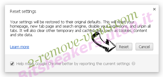 Yelloader Chrome reset