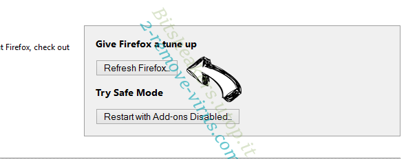 Secure Search Bar Firefox reset