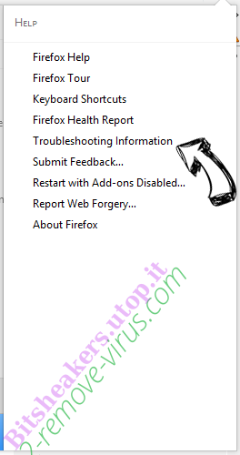 Search.aquatoria.net Firefox troubleshooting