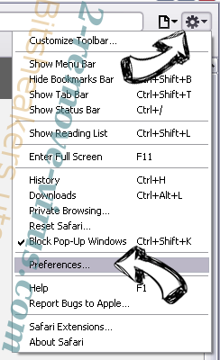 Bitsheakers.utop.it Safari menu