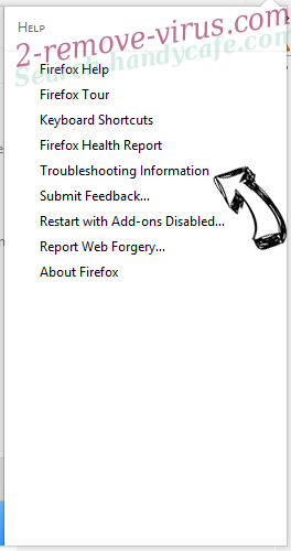 Search.handycafe.com - wie entfernen? Firefox troubleshooting