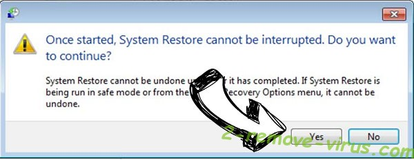 Csrss.exe Trojan removal - restore message