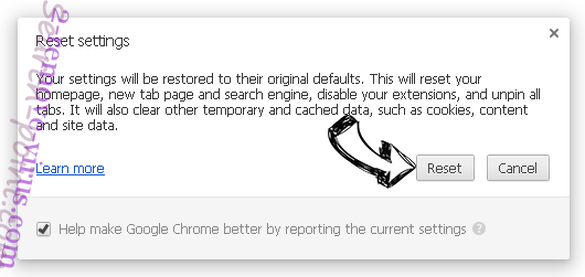 Easy Search Chrome reset