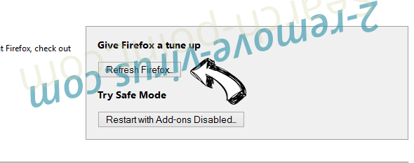 Search.safesidetabplussearch.com Firefox reset