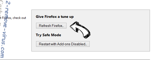 Search-vmn.net Firefox reset