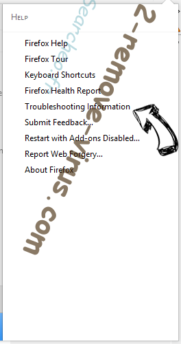 Search.tvstreamsurfer.com Firefox troubleshooting