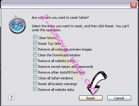Safepage.easyfiletool.com Safari reset