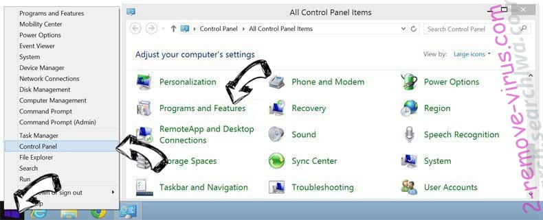 Delete Mystart2.dealwifi.com from Windows 8