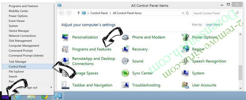 Delete MyTransitMapper Toolbar from Windows 8