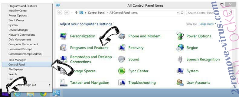 Delete DirectionsOnline Toolbar from Windows 8