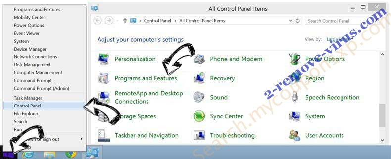 Delete Pirate Chick VPN virus from Windows 8