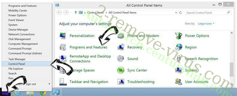 Delete EasyDirectionsFinder Toolbar from Windows 8
