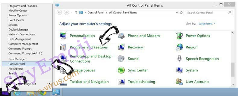 Delete Twinkle Star from Windows 8