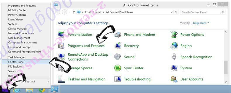Delete WinZip Driver Updater from Windows 8