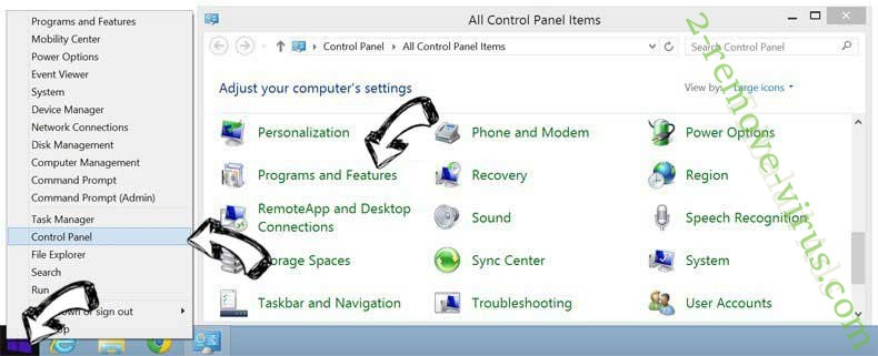 Delete Smart Defragmenter from Windows 8