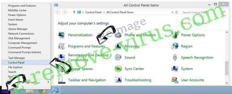 Delete Reimage from Windows 8