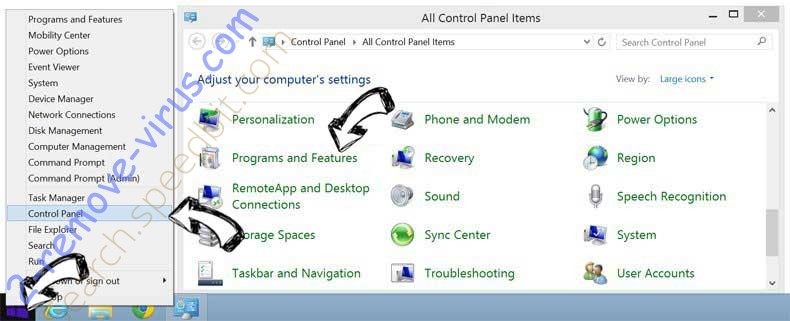 Delete EverydayManuals Toolbar from Windows 8