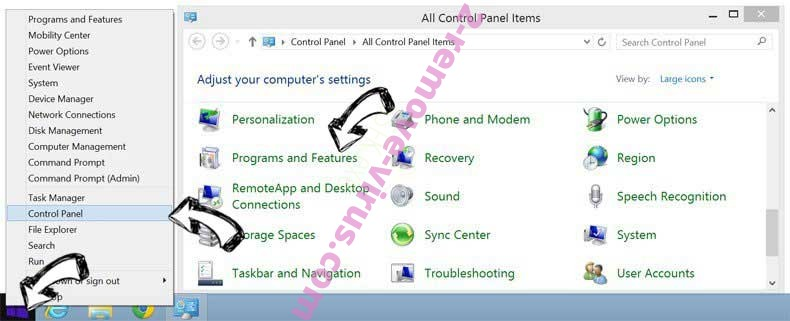 Delete CouponGiant Ads from Windows 8